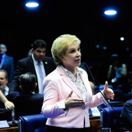 O texto aprovado é o substitutivo (texto alternativo) da senadora Marta Suplicy ao PLC 5/2016 Foto: Agência Senado/Divulgação