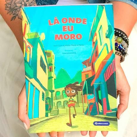 Livro 'Lá onde ei moro' é lançado no RioZoo Foto: Divulgação