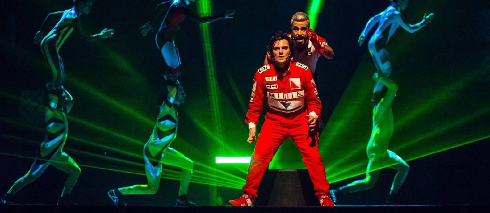Ayrton Senna, o musical Foto: Caio Gallucci