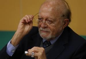 O novo presidente interino do PSDB, Alberto Goldman Foto: Michel Filho / Agência O Globo 09/11/2017