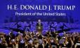 Presidente dos EUA, Donald Trump, faz discurso durante Fórum de Cooperação Econômica Ásia-Pacífico (Apec) no Vietnã