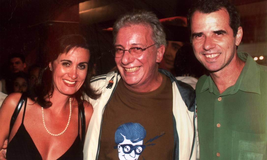 Marcia Cabrita, Marco Nanini e Mauro Faria em foto de janeiro de 2006 Cristina Granato / Divulgação