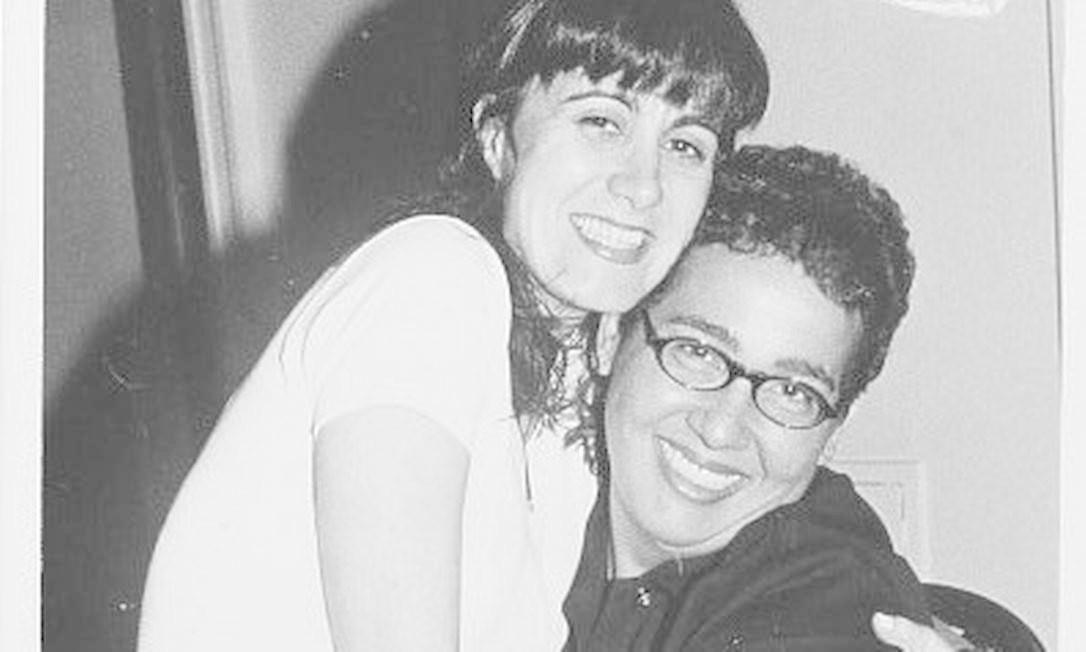 Márcia Cabrita e Cláudia Jimenez no Copacabana Palace em 1997 Cristina Granato / Divulgação