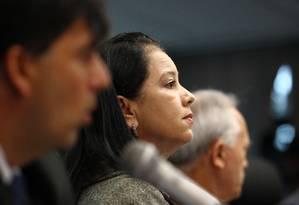 Na foto, a advogada-geral da União, Grace Mendonça Foto: Jorge William / Agência O Globo