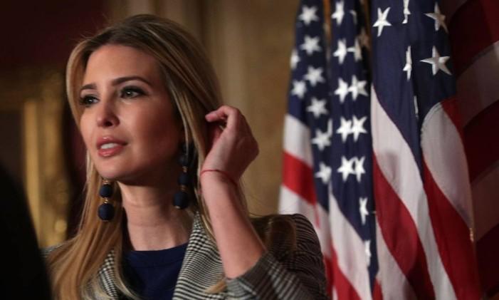 Ivanka Trump, no Capitólio dos EUA Foto: ALEX WONG / AFP