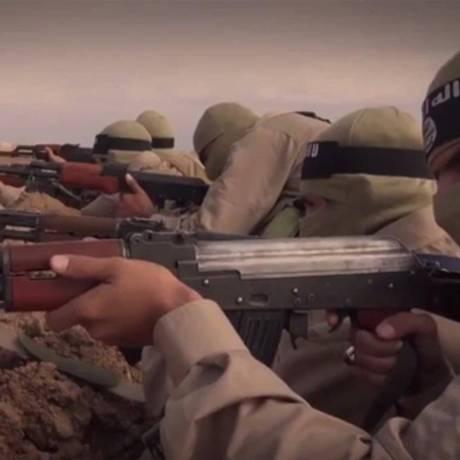 Com vídeos nas redes sociais, Estado Islâmico faz propaganda da guerra em Síria e Iraque Foto: Reprodução