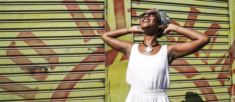 Publicada em antolgias nacionais e internacionais, Ana Paula Lisboa passou pelos cursos de formação da Flup, em 2012 Foto: Ivo Gonzalez / Agência O Globo