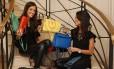 Gabriela Carvalho, que junto com a irmã Daniela criou em 2011 o 'Peguei Bode', um dos sites pioneiros especializados em desapegos de luxo Foto: Arthur Vahia / Divulgação