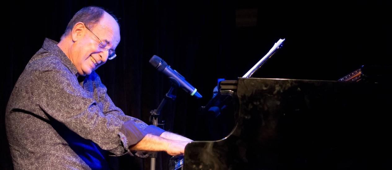 O compositor e pianista Antonio Adolfo Foto: Alexandre Moreira / Divulgação