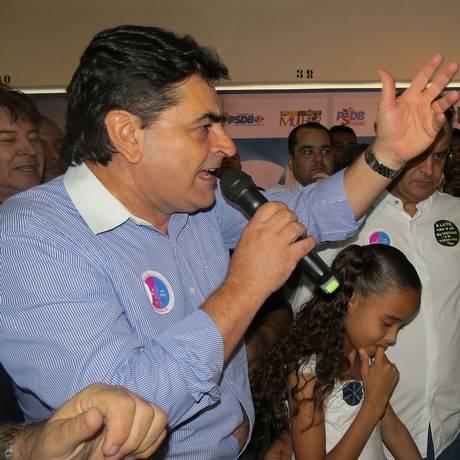 O deputado Domingos Sávio (PSDB) na convenção do partido Foto: Divulgação / PSDB