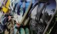 Sandálias Havaianas em exposição em loja. Foto Gustavo Azeredo/Agência O Globo