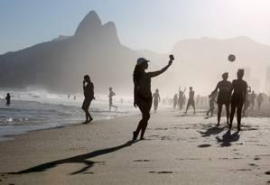 Praia de Ipanema. Foto Custodio Coimbra/Agência O Globo