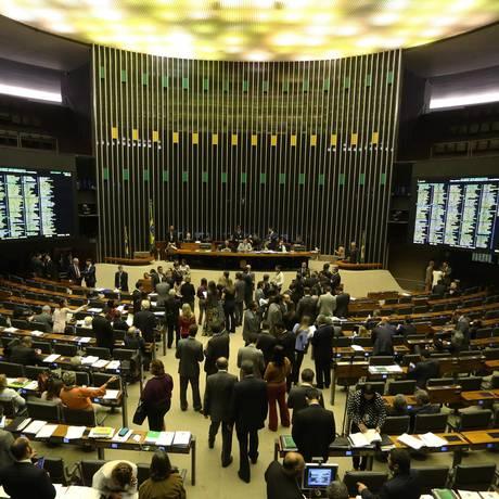 Câmara dos Deputados. Foto: Aílton de Freitas / Agência O Globo