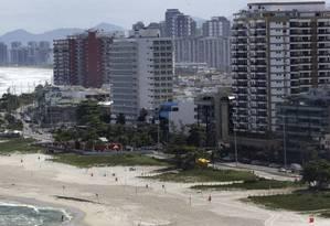 A Barra, com a rede hoteleira renovada, atrai cada vez mais eventos internacionais para o Rio: ideia é promover a cidade o ano inteiro Foto: Márcio Alves / Agência O Globo