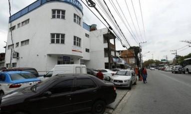 Base da UPP da Cidade de Deus Foto: Marcelo Theobald / O Globo