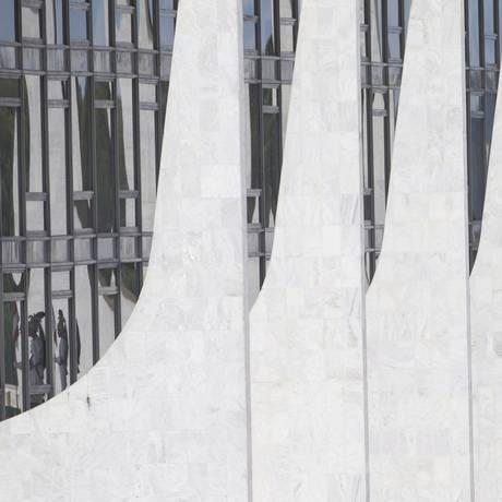 A fachada do Palácio do Planalto, em Brasília Foto: Jorge William - 01/03/2017 / Agência O Globo