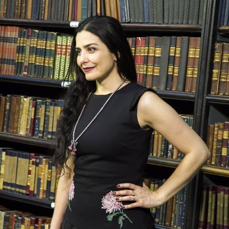 A atriz Letícia Sabatella protestou contra a PEC 181 nas redes Foto: Bárbara Lopes / Agência O Globo