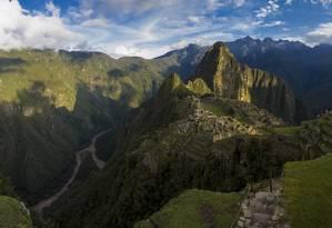 Machu Picchu, no Peru: sítio sofre danos com clima, turismo e poluição/1-2-2017 Foto: Daniel Marenco / Agência O Globo