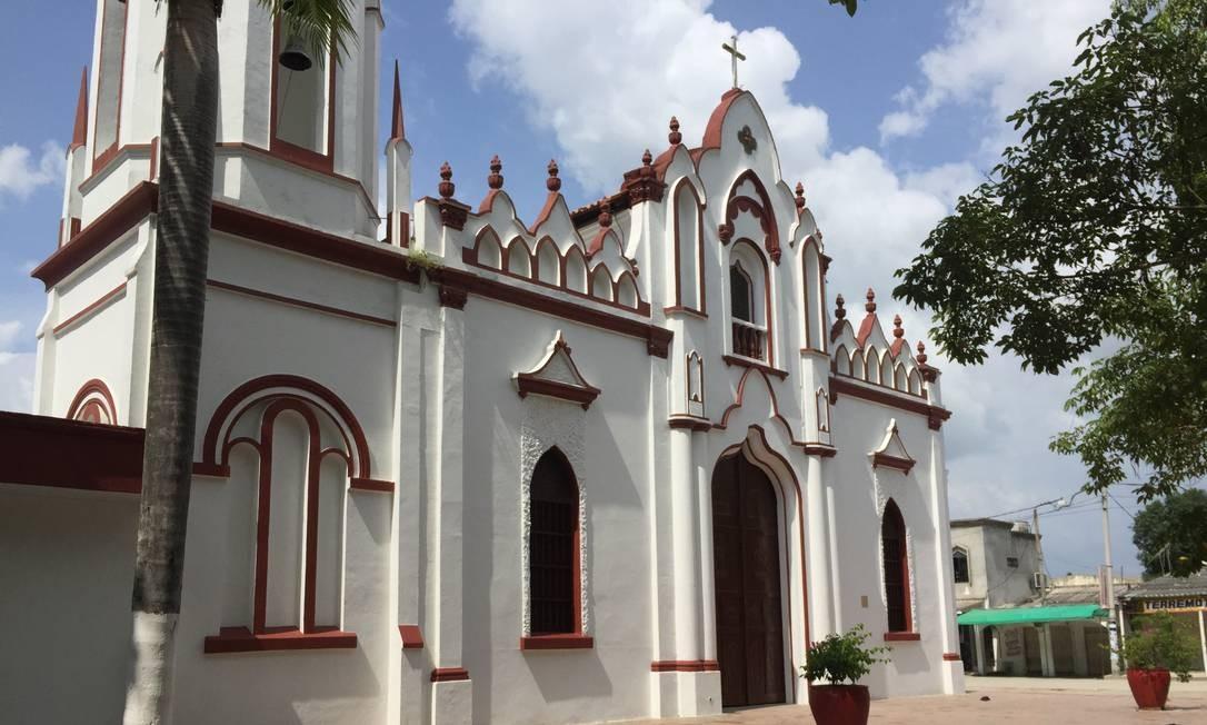 A Igreja de São José, onde Gabo foi batizado Foto: Breno Salvador/O GLOBO