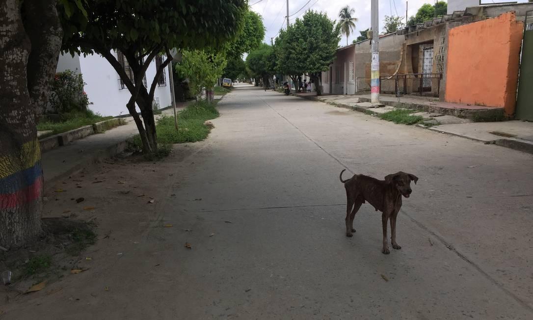 Uma cidadezinha pacata é a Macondo da vida real: Gabo nasceu em Aracataca Foto: Breno Salvador/O GLOBO