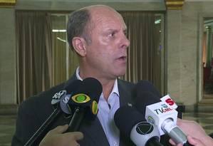 Roberto Itamar, Coronel do Exército e porta-voz do Comando Militar do Leste Foto: O Globo