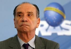 Ministro das Relações Exteriores, Aloysio Nunes Ferreira Foto: Givaldo Barbosa/Agência O Globo