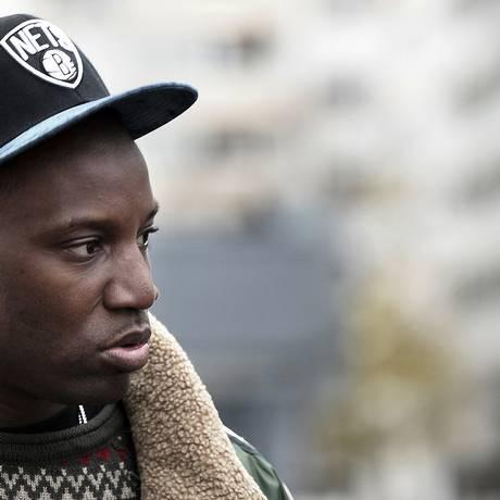 O artista francês, descendente de congoleses, Abd Al Malik. Foto: FREDERICK FLORIN / AFP