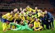 Suécia classificada à Copa da Rússia