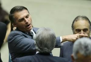 O deputado Jair Bolsonaro (PSC-RJ) Foto: Jorge William / Agência O Globo / 29-8-17