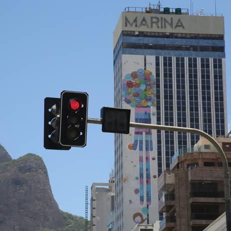 Fechado. Um dos ícones da hotelaria na cidade, o Marina Palace está em reforma: ele deve ser reaberto no primeiro trimestre de 2021 Foto: Custódio Coimbra / custódio coimbra