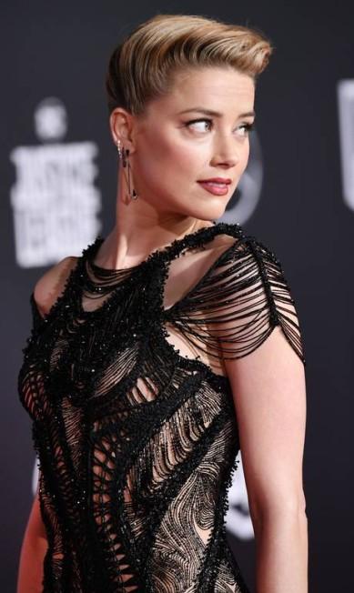 Amber Heard ROBYN BECK / AFP