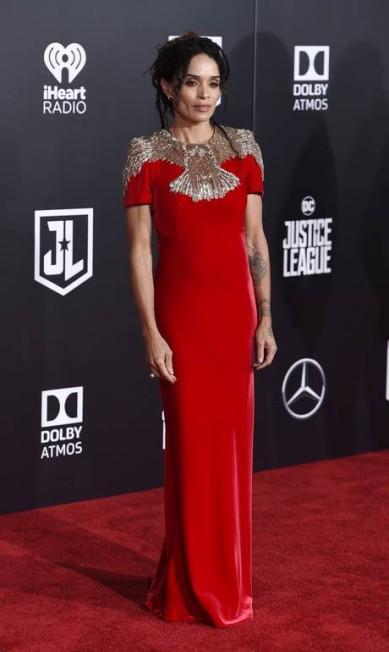 Lisa Bonet de Alexander McQueen Chris Pizzello / Chris Pizzello/Invision/AP