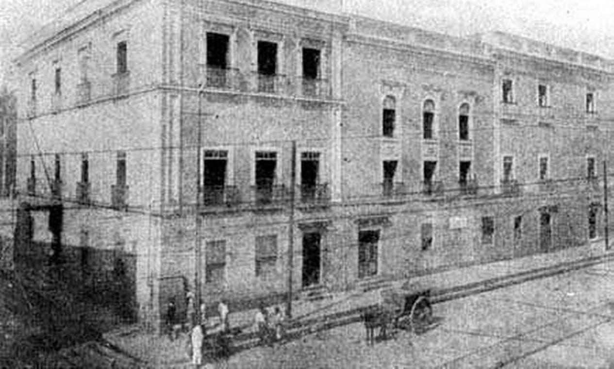 """O nome da operação, é referência ao prédio """"Cadeia Velha"""", que foi derrubado e deu lugar ao Palácio Tiradentes Foto: Reprodução"""