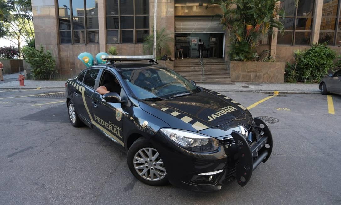 PF cumpriu mandados de busca e apreensão em gabinetes da presidência da Alerj e de parlamantares Foto: Márcio Alves/Agência O Globo