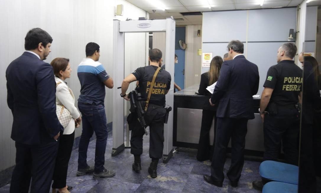 Esta foi maior ofensiva contra corrupção no Rio desde a prisão do ex-governador Sérgio Cabral Foto: Márcio Alves/Agência O Globo