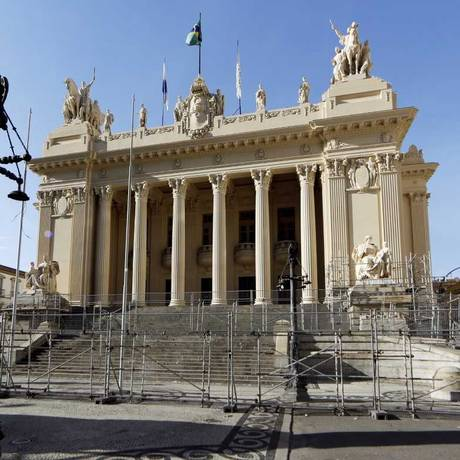 O Palácio Tiradentes, sede da Assembleia Legislativa (Alerj) Foto: Gustavo Miranda/O Globo