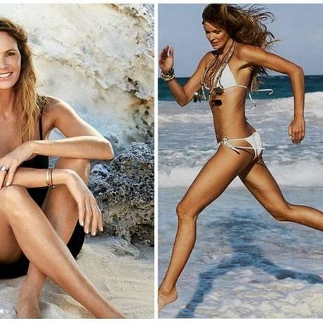 Elle MacPherson, 53 anos, ficou conhecida como 'o corpo' Foto: Reprodução Instagram