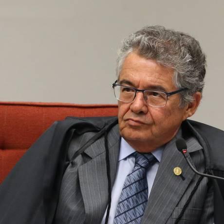 O ministro Marco Aurélio Mello, do Supremo Tribunal Federal (STF), avaliou nesta terça-feira que é positivo diminuir as atribuições da corte Foto: Ailton de Freitas / Agência O Globo
