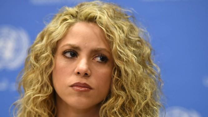 A cantora Shakira Foto: TIMOTHY A. CLARY / AFP