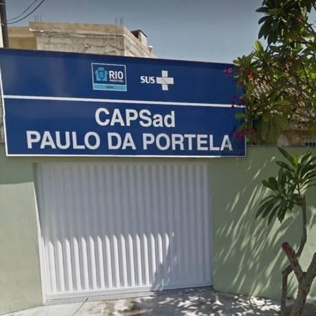 Caps Paulo da Portela, em Madureira Foto: Reprodução