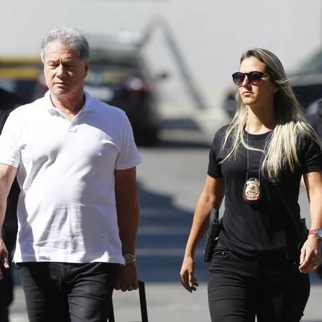 O empresário de ônibus Jacob Barata Filho é preso na Operação