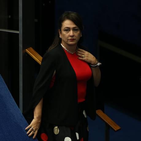 A senadora Kátia Abreu (PMDB-TO) Foto: Ailton de Freitas / Agência O Globo/21-3-17