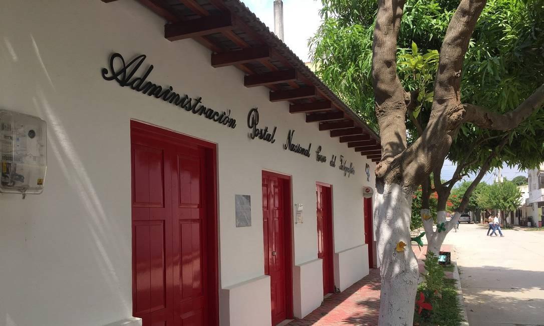A Casa do Telegrafista, em Aracataca: história passa pela dos pais de Gabo Foto: Breno Salvador / Agência O Globo