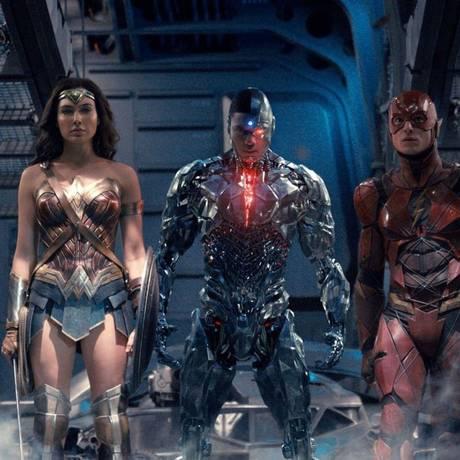 Cena do filme 'Liga da Justiça' Foto: Divulgação