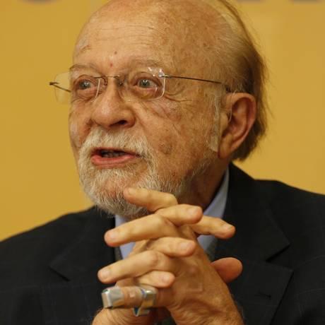 O ex-governador de São Paulo Alberto Goldman, Foto: Michel Filho / Agência O Globo