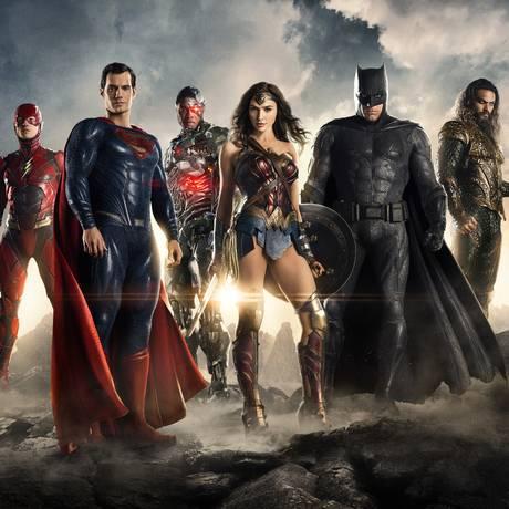 Super-heróis da 'Liga da Justiça' Foto: Courtesy of Warner Bros. Picture / Courtesy of Warner Bros. Picture