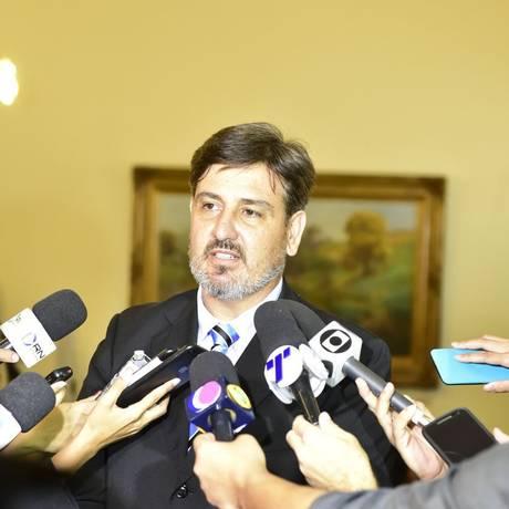 Diretor-geral da Polícia Federal, Fernando Segóvia Foto: Leonardo Duarte/Secom-ES 13-11-2017