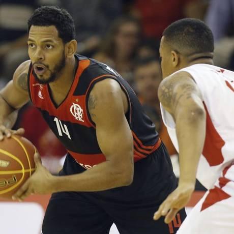 Pouco. Titular, o dominicano Ronald Ramón terminou o jogo com 5 pontos Foto: Staff Images/Flamengo