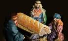 Rede de lanches se desculpa após trocar Jesus por salsicha em presépio Foto: Reprodução