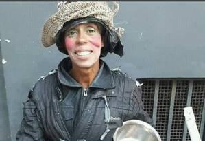 Fernanda Rodrigues dos Santos, de 40 anos, era moradora de rua Foto: Divulgação Polícia Civil